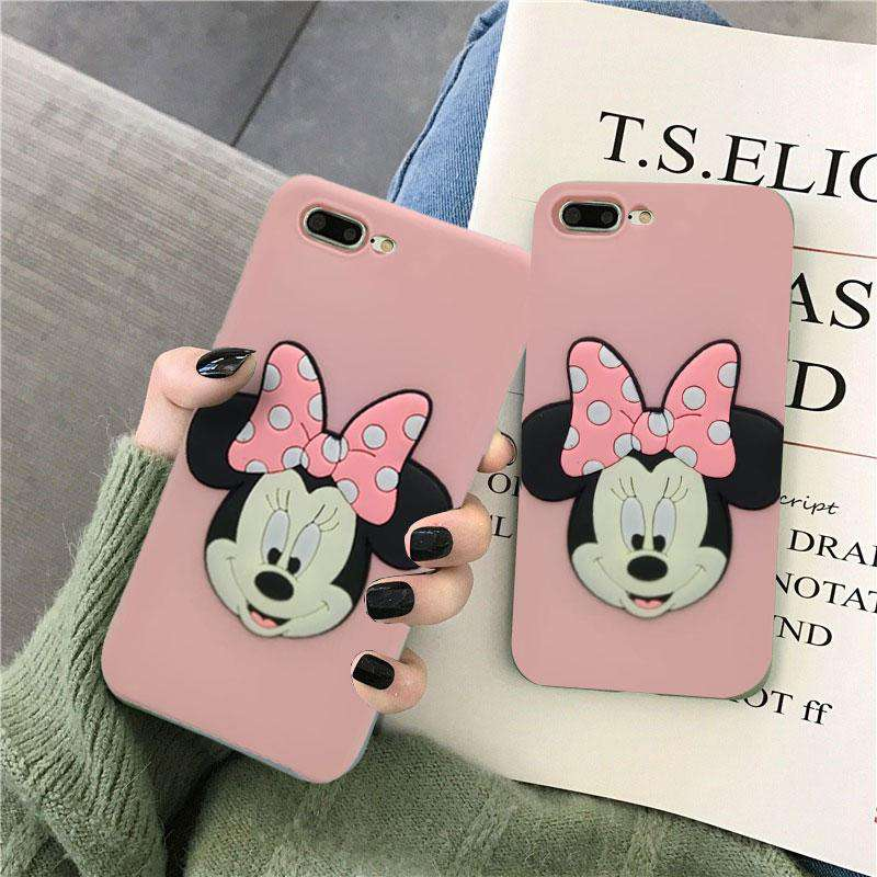 Pink Mickey Case For A3S