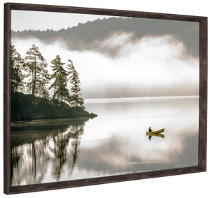 31.5X41.5 FISHING (FRAMED LAMINATE)