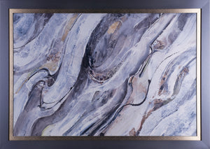 28.25X40.25 MINERALS (DOUBLE FRAMED STUCCO ART)