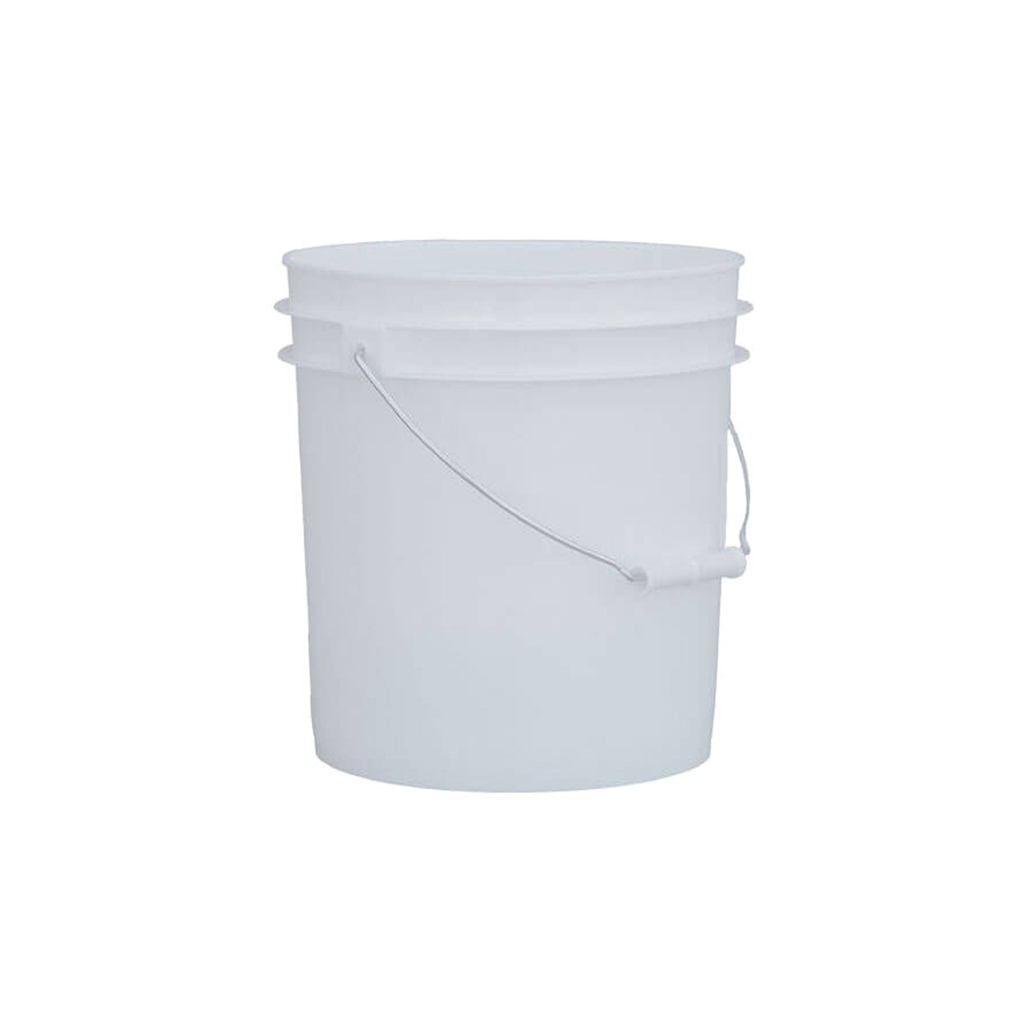 2 Gallon Bucket with Handle - Food Grade, White
