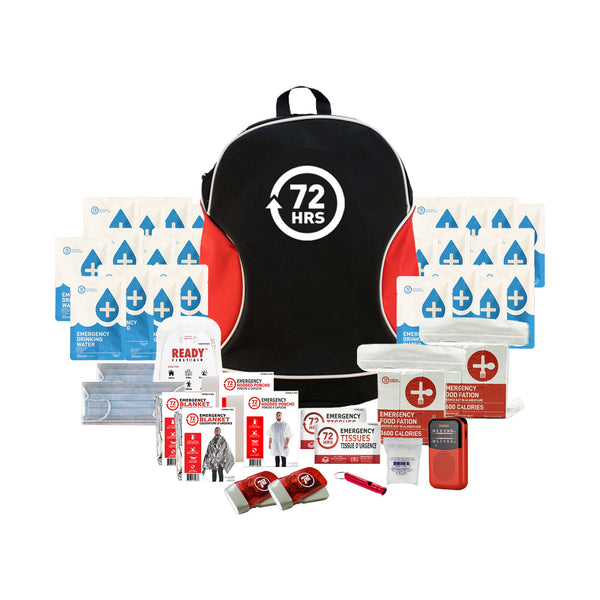 2 Person 72HRS Essential Backpack - Emergency Survival Kit