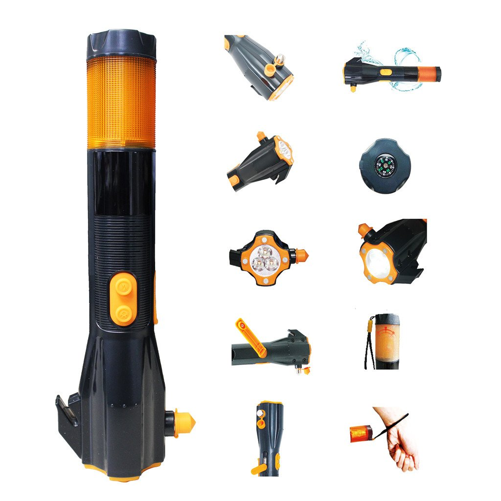 All-In-One Auto Emergency Tool