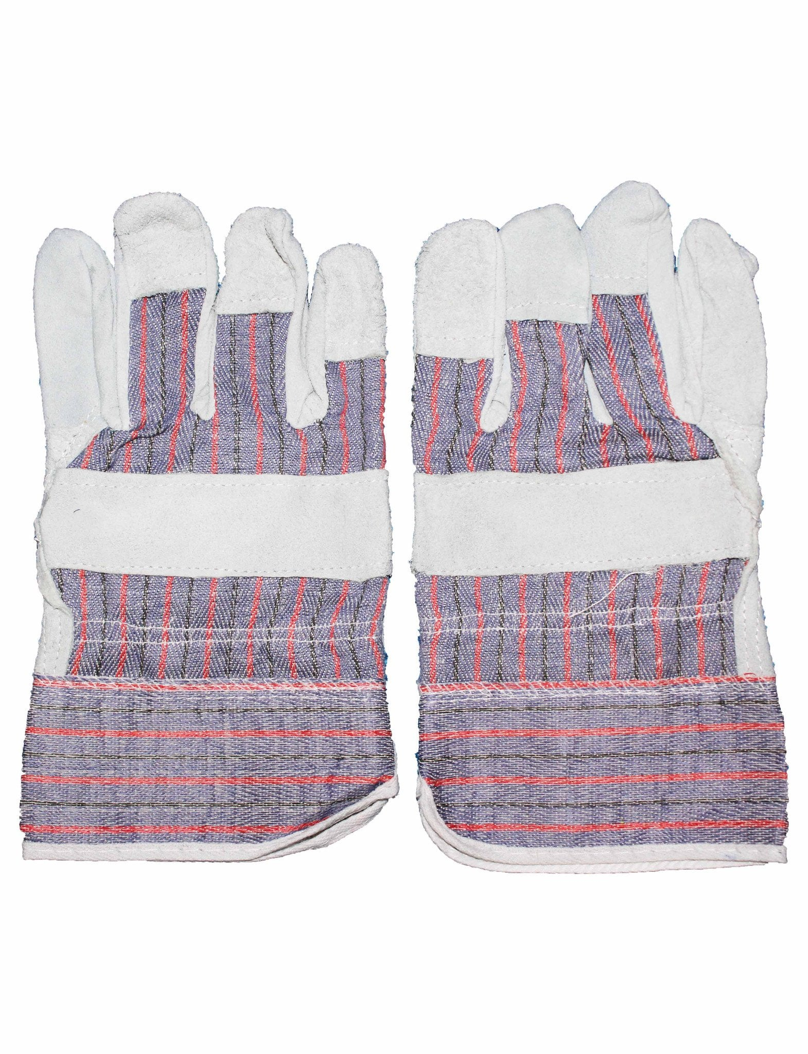 72HRS Leather Palm Work Gloves (pair)