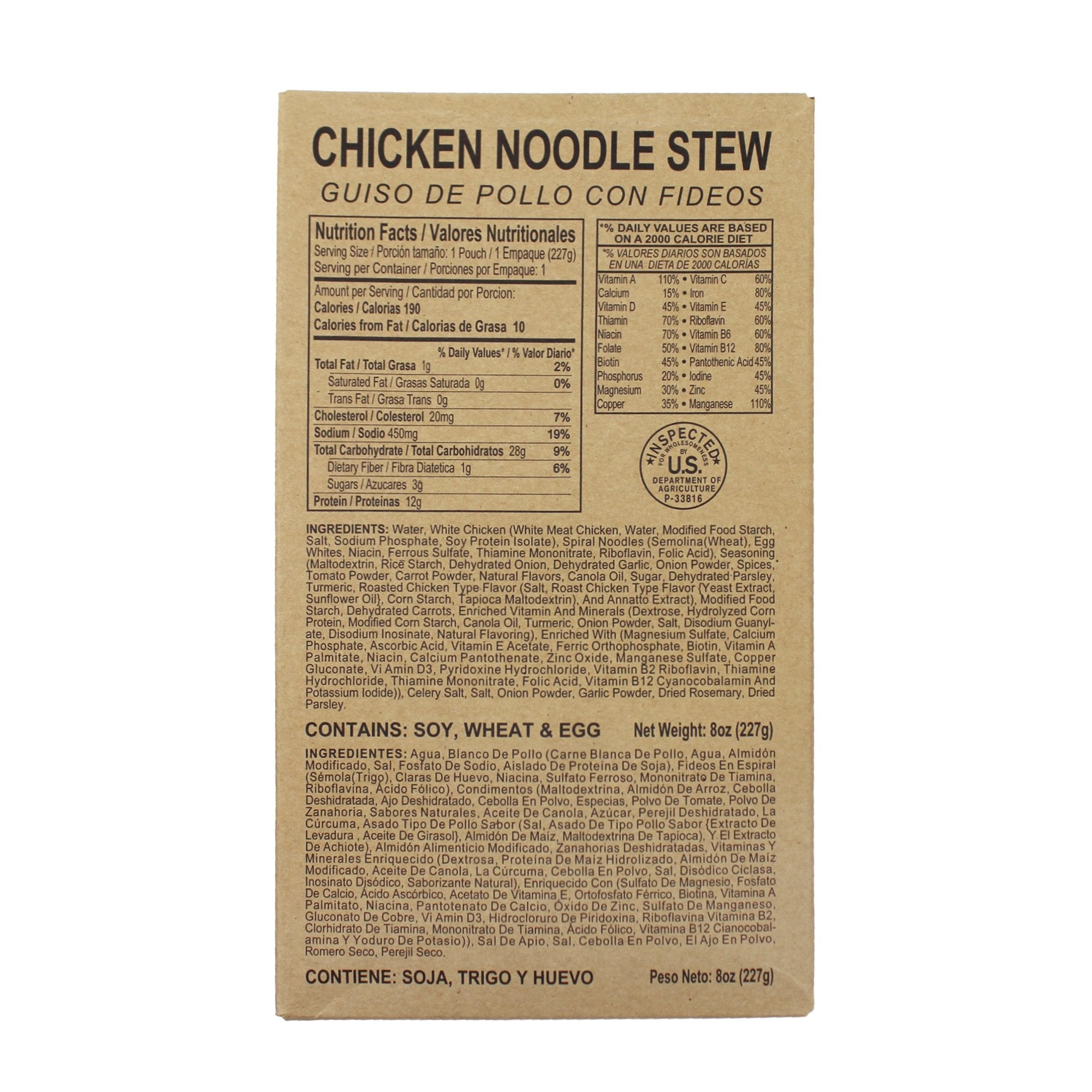 Chicken Noodle Stew - MRE Star