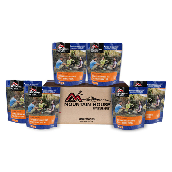 Chicken Teriyaki With Rice - Case of 6 (Mountain House®)