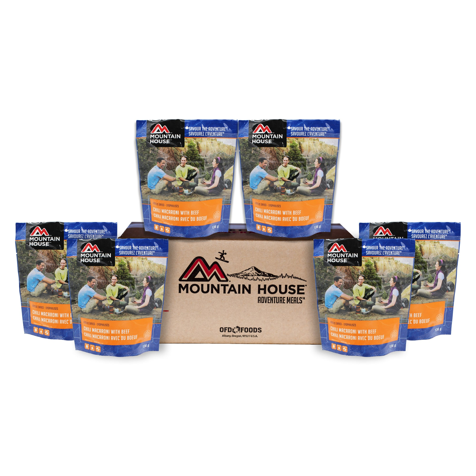 Chili Mac with Beef - Case of 6 (Mountain House®)