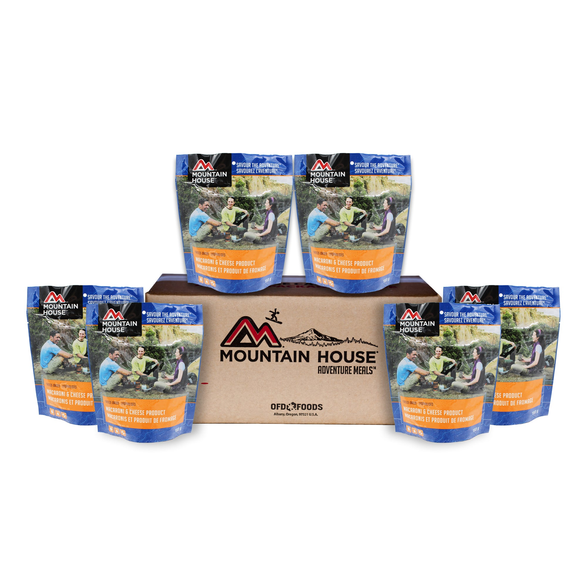 Mac and Cheese - Case of 6 (Mountain House®)