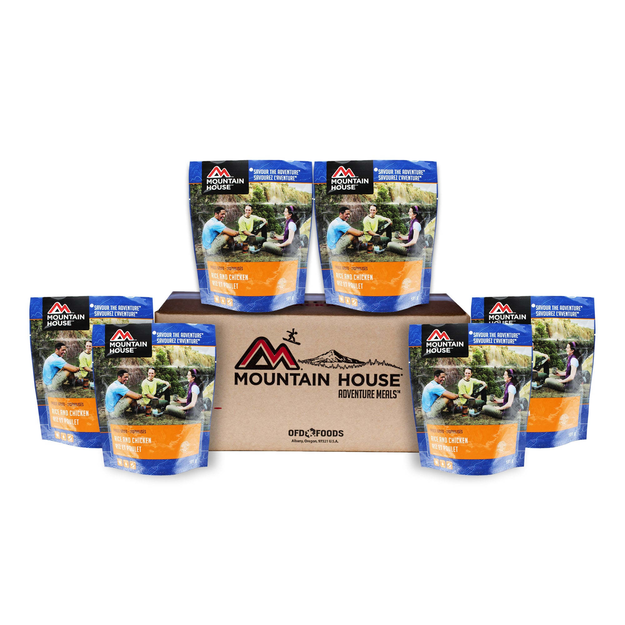 Rice and Chicken - Case of 6 (Mountain House®)
