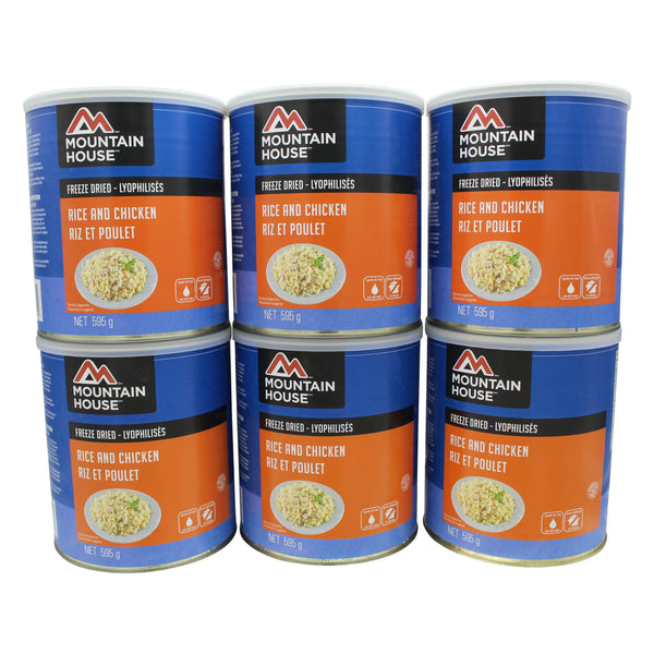 Rice and Chicken #10 Can Package (Mountain House®)
