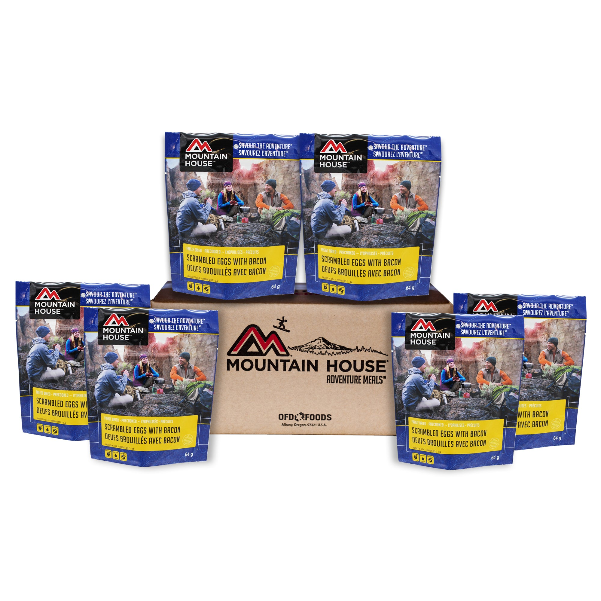 Scrambled Eggs With Bacon - Case of 6 (Mountain House®)