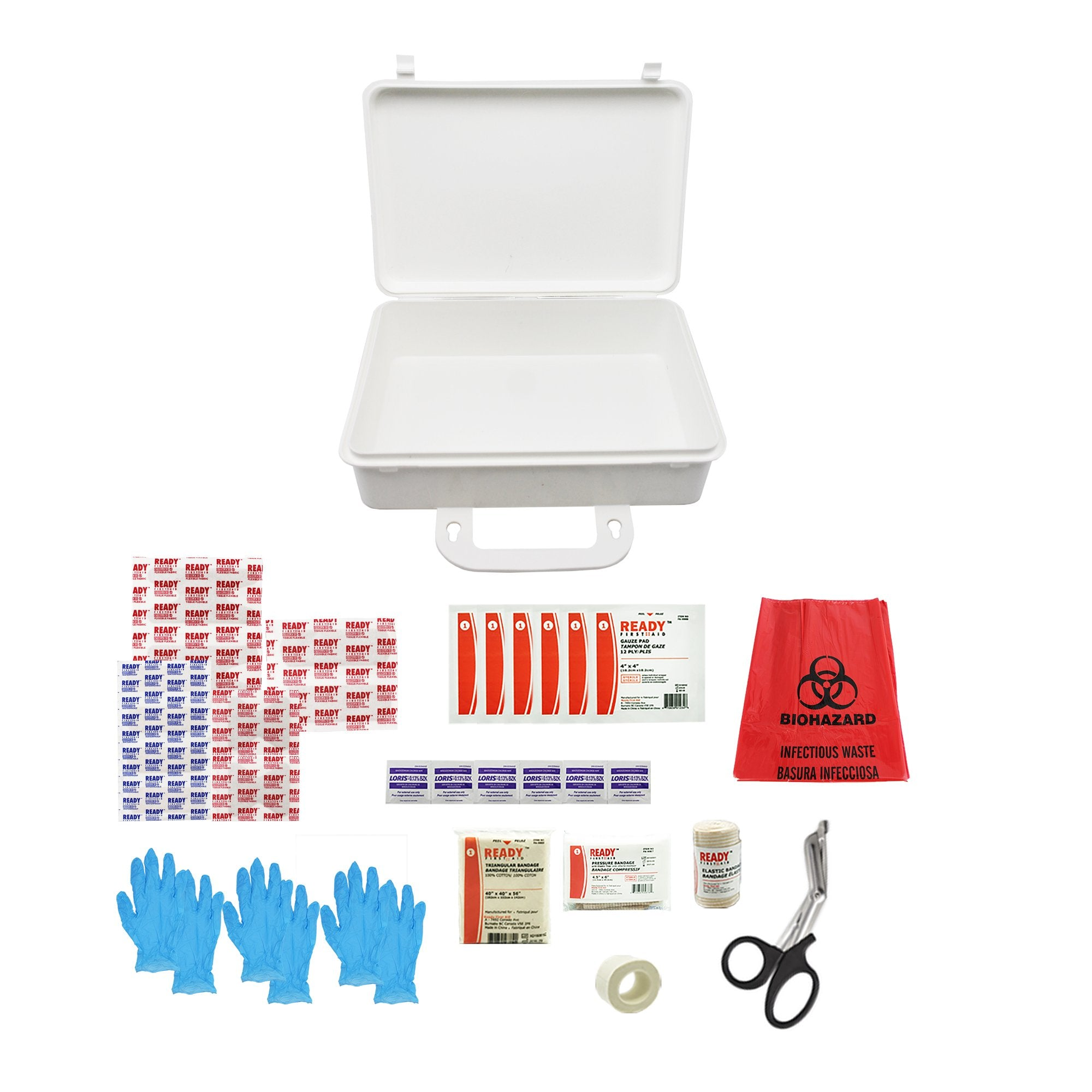 WorkSafeBC BC Basic First Aid Kit - Ready First Aid™