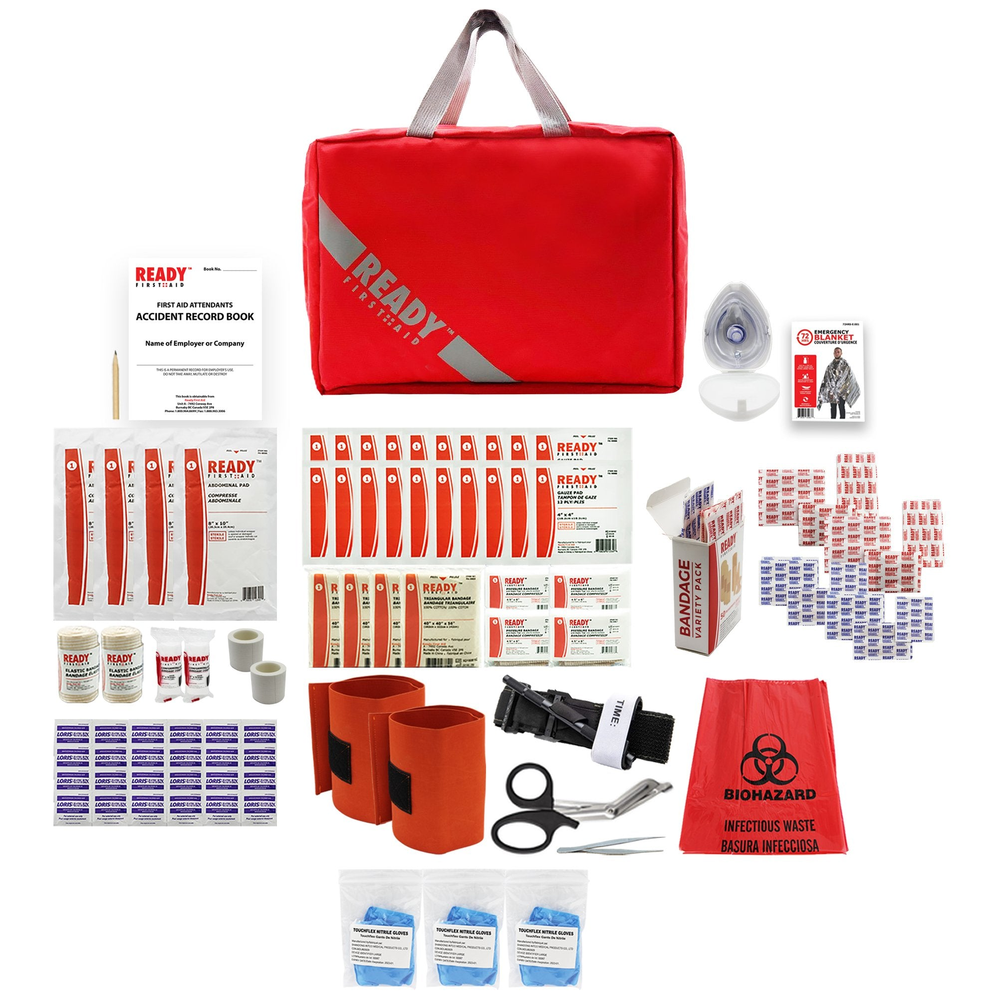 WorkSafeBC BC Level 2 First Aid Kit - Ready First Aid™