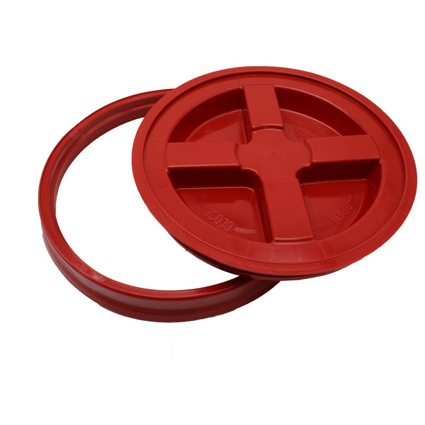 Gamma Seal Lid - Red (3.5 to 7.9 Gallon Bucket)