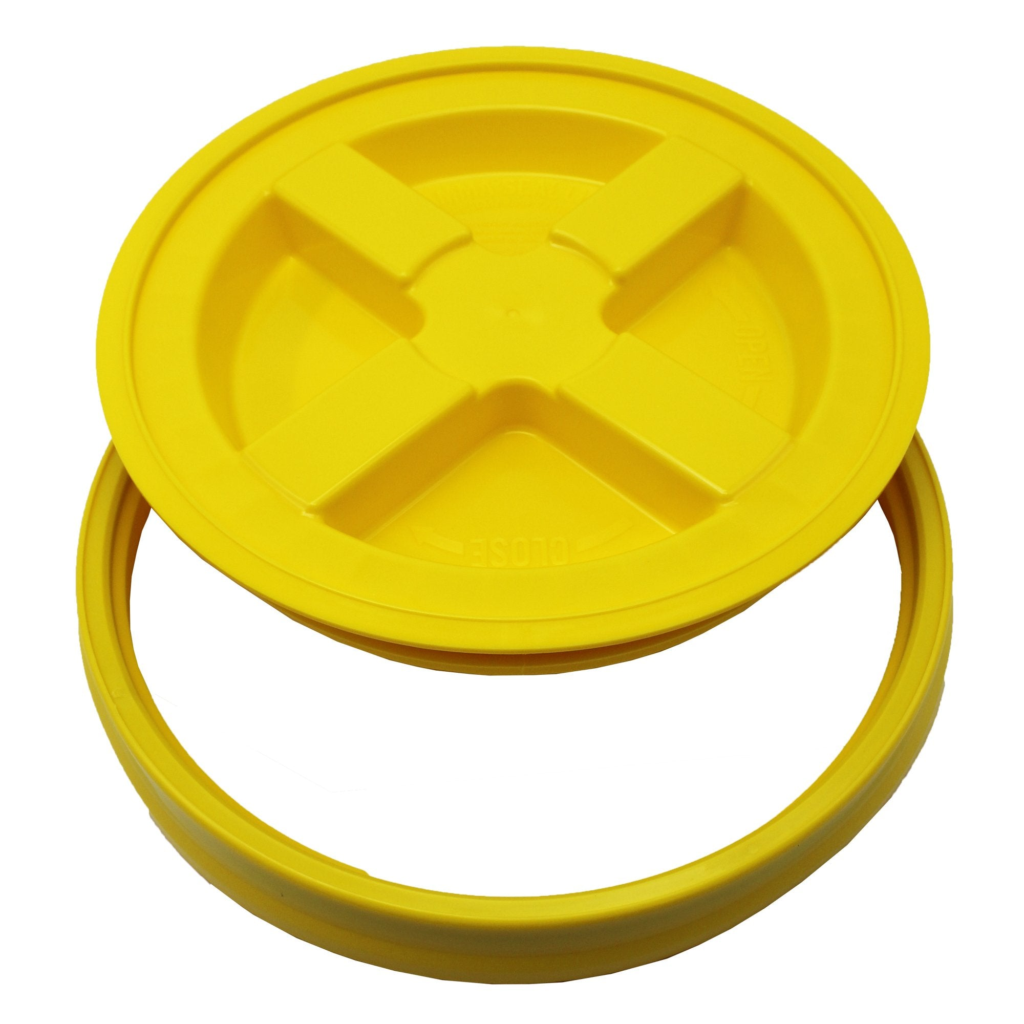 Gamma Seal Lid - Yellow (3.5 to 7.9 Gallon Bucket)