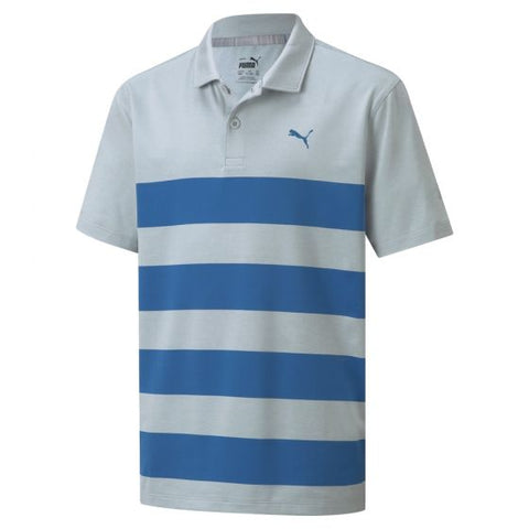BOYS MATTR KIWI STRIPE GOLF POLO