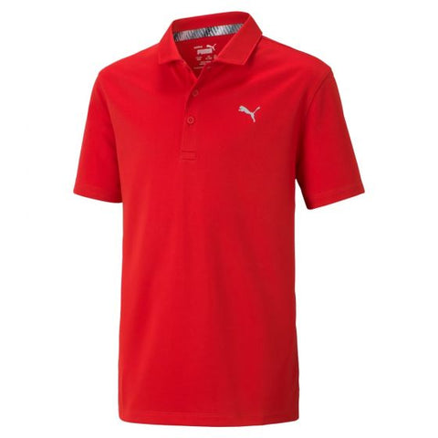 JUNIORS ESSENTIAL GOLF POLO
