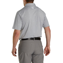 Load image into Gallery viewer, Men's Athletic Fit Lisle Stripe Self Collar