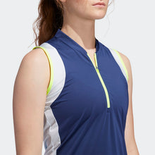 Load image into Gallery viewer, Women's Color-block Sleeveless Polo Shirt w/ EPGCC Logo