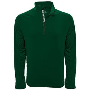 Men's Peak Quarter-Zip w/EPGCC Logo's