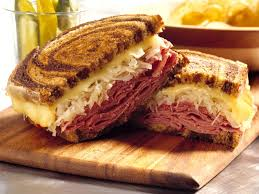 Reuben Sandwich DINNER for (2)