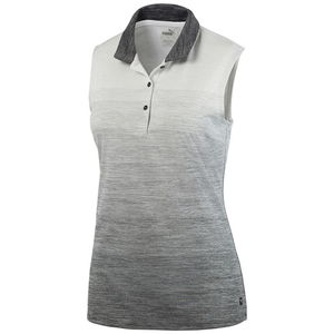 Women's Ombre Sleeveless Golf Polo