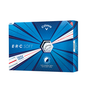 ERC Soft Triple Track Golf Ball (Dozen)
