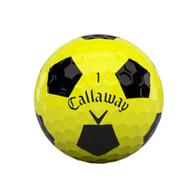 Load image into Gallery viewer, Chrome Soft 2020 Truvis Yellow Golf Ball (Dozen)