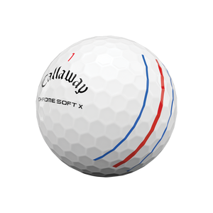 Chrome Soft X 2020 Triple Track Golf Ball (Dozen)