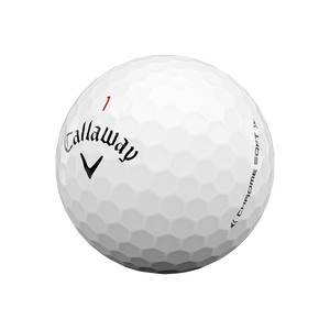 Chrome Soft 2020 White Golf Ball (Dozen)