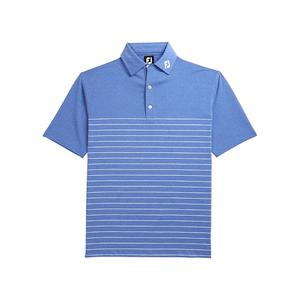 Men's Lisle Engineered Pinstripe Self Collar