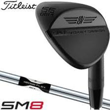 Load image into Gallery viewer, SM8 Jet Black Vokey Wedge