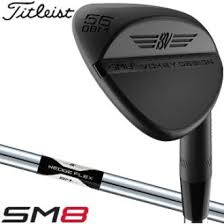 SM8 Jet Black Vokey Wedge