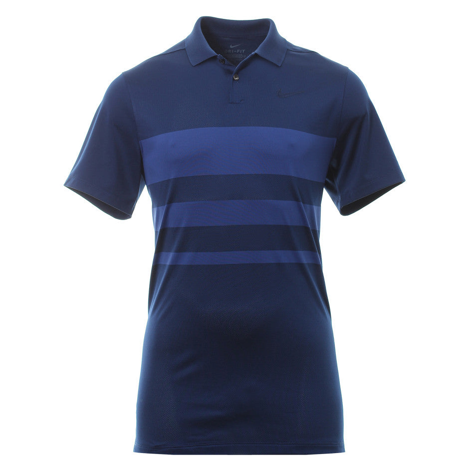 Men's Vapor Strip Polo w/EPGCC Logo