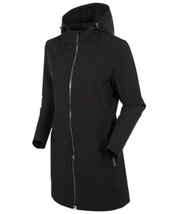 Women's Brooklyn Car Coat With Hood