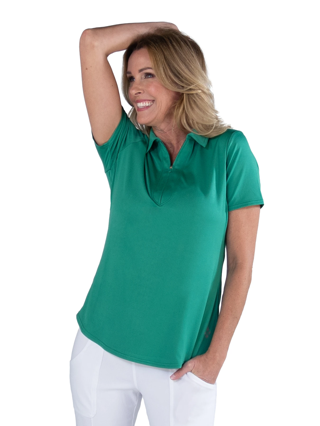 Women's Emerald Performance Polo