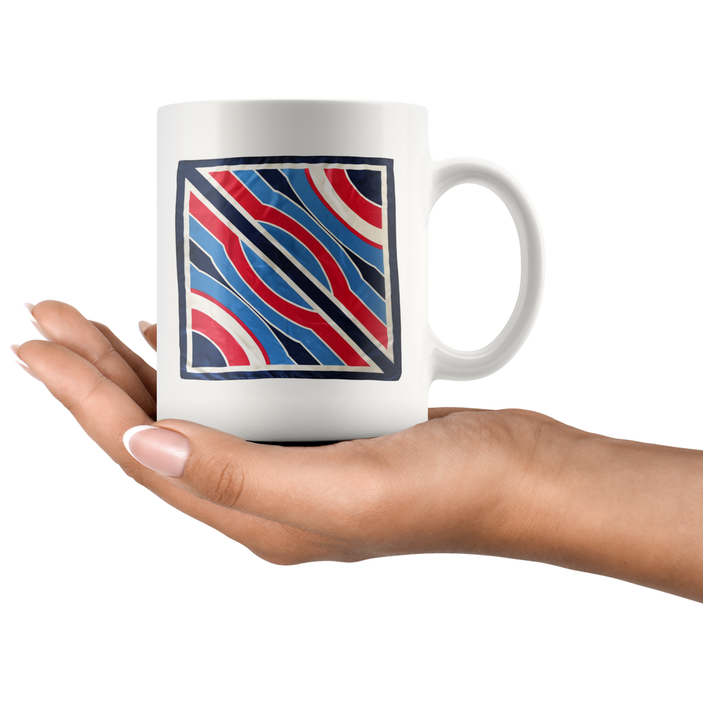 Jet Clipper Stripes Mug