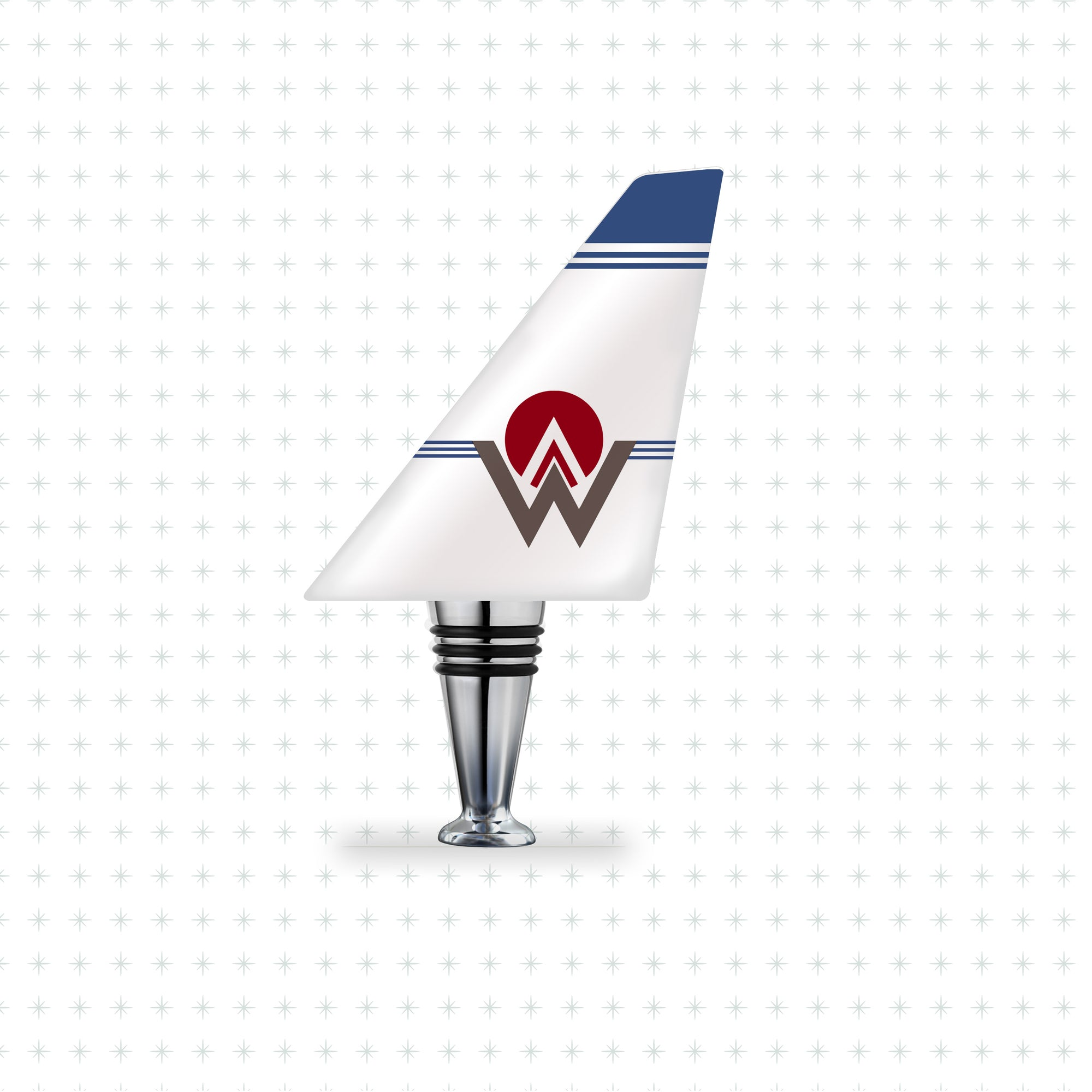 America West - Airline Tails™️ Bottle Stopper