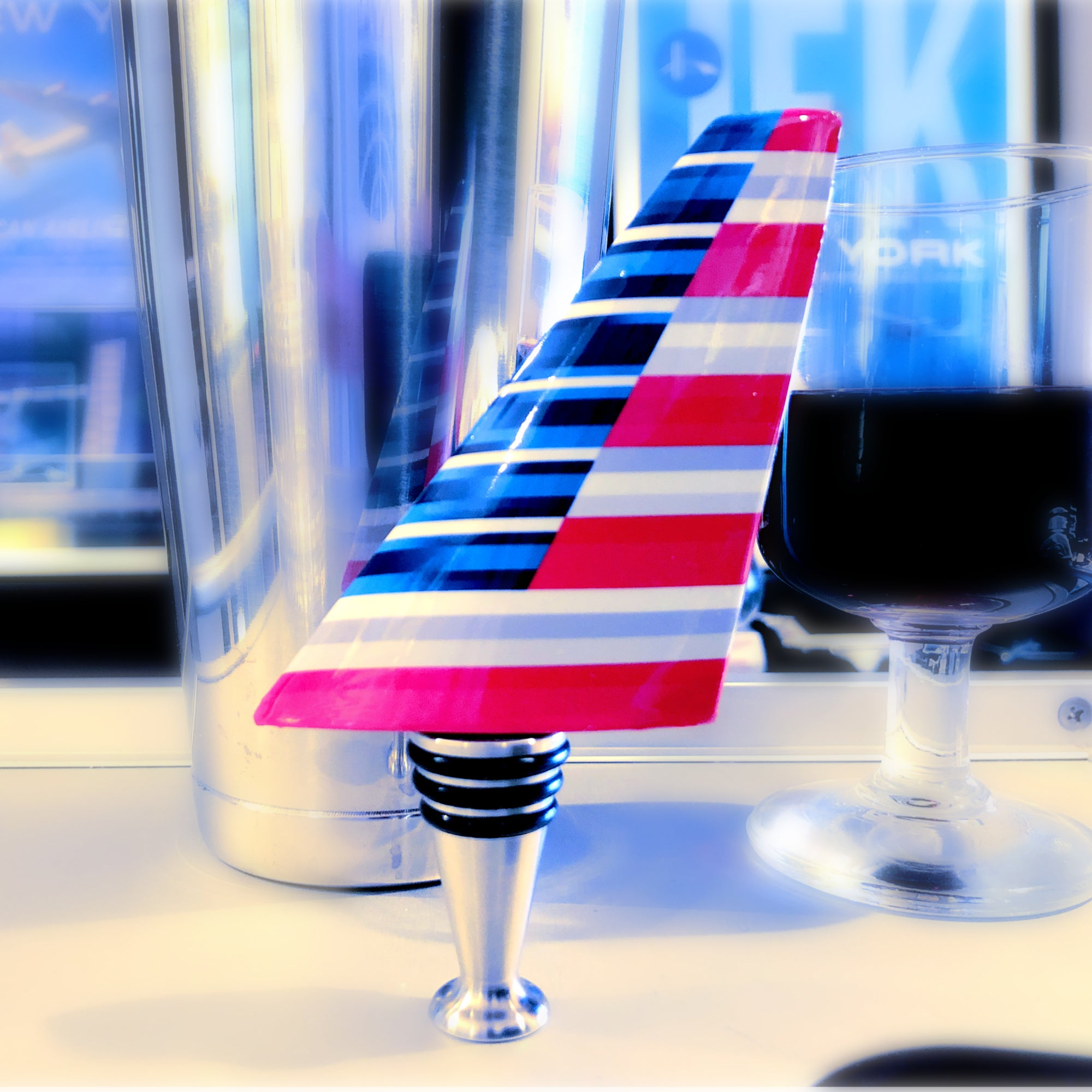 American Airlines New Livery Wine Bottle Stopper