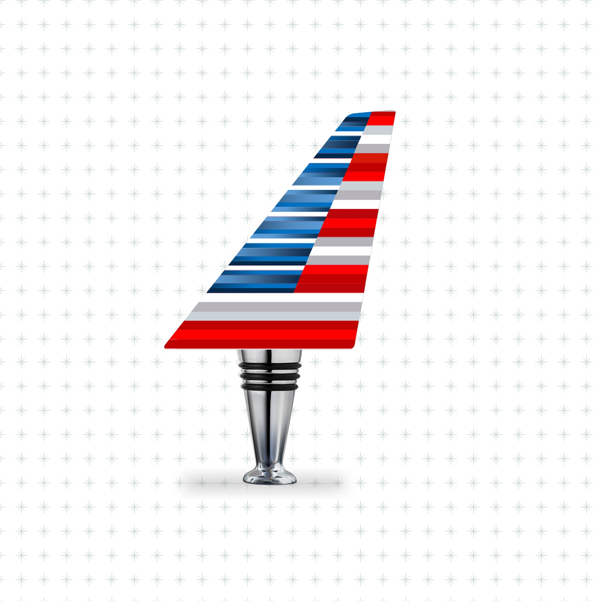 American Airlines (New Livery) Airline Tails™️ Bottle Stopper