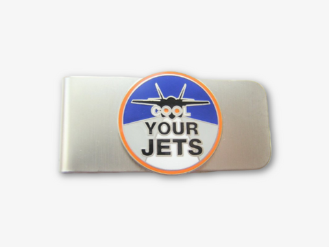 Cool Your Jets Nickel Finish Money Clip