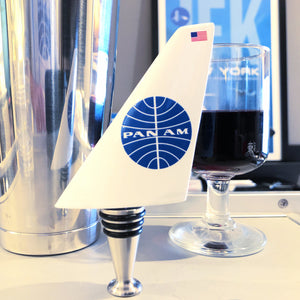 Pan Am Airline Tails Wine Bottle Stopper