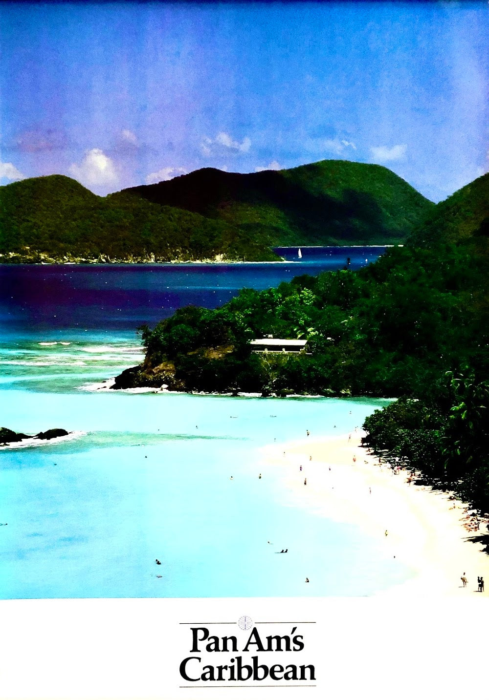 Vintage Pan Am's Caribbean Poster
