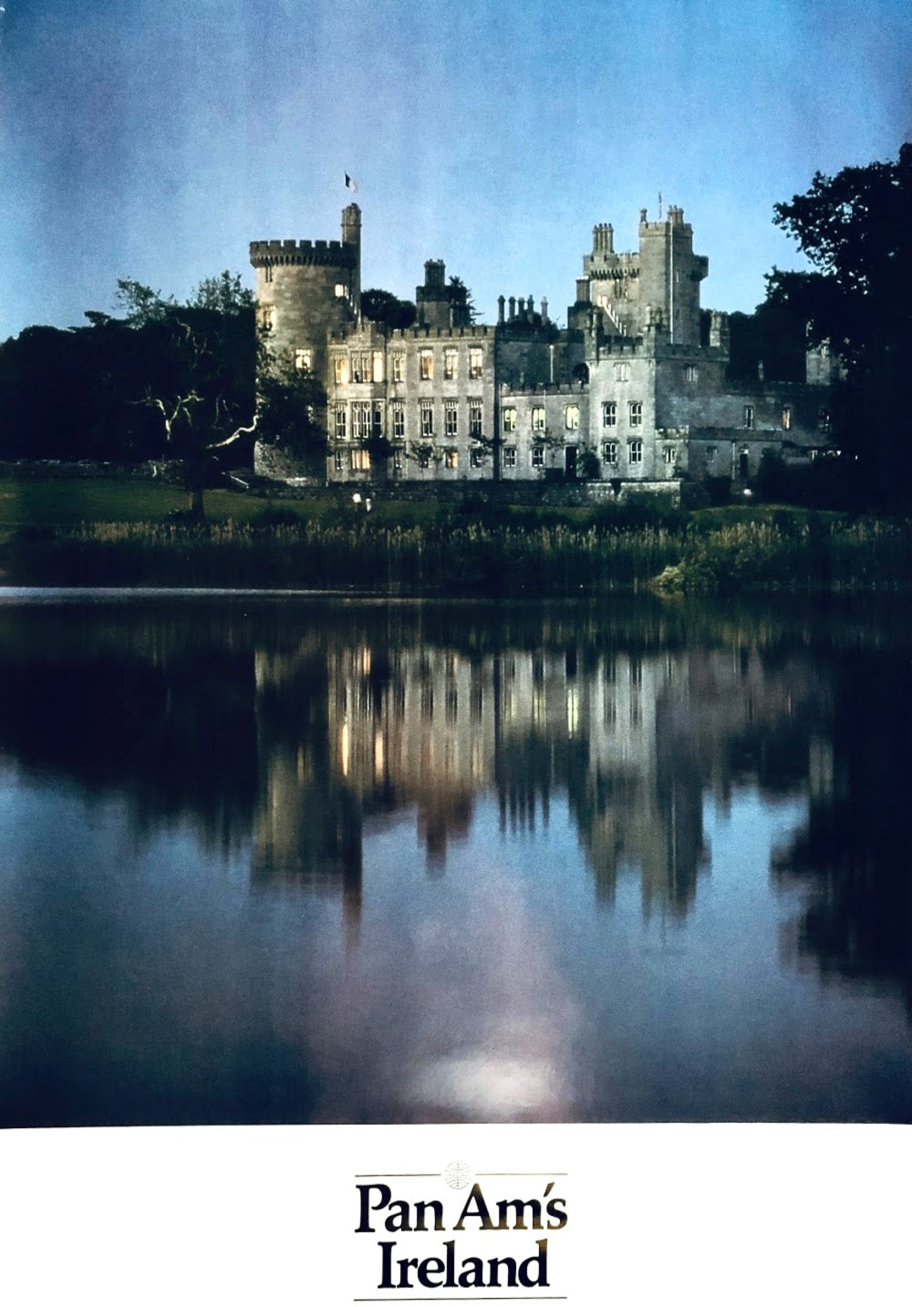 Vintage Pan Am's Ireland Poster