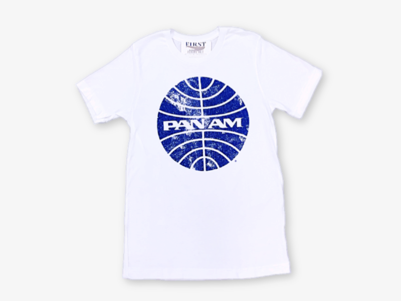 Vintage Pan Am Globe Logo T Shirt