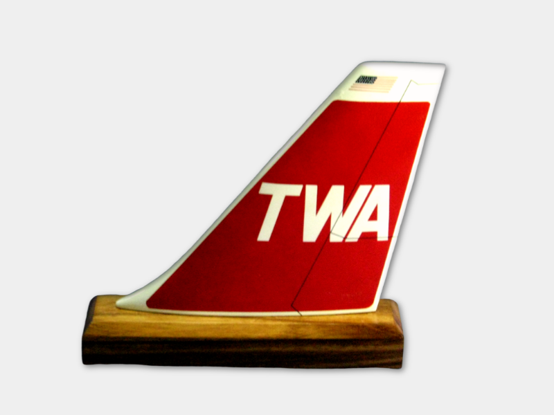TWA (Trans World Airlines) Logo Tail