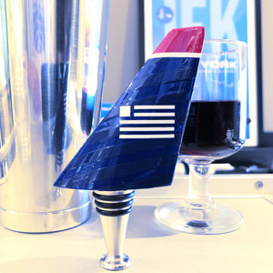 US Airways Airline Tails Wine Bottle Stopper