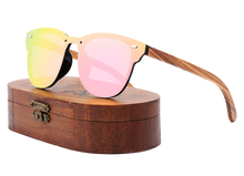 Load image into Gallery viewer, Tree Shades - 100% Polarized Bamboo Designer Sunglasses Wood Sunglasses Polarized Uv400 Protection Brand Designer Mirror Square Sun Glasses