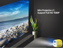 Load image into Gallery viewer, L1 2020 Mini LED Projector Full HD 1080P