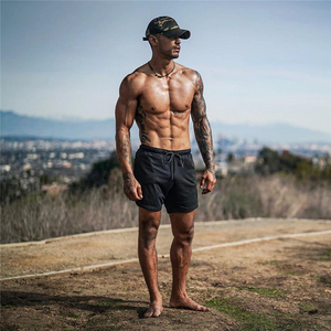 Stealth-Tech Jogger Shorts - Men's Fitness Workout Shorts