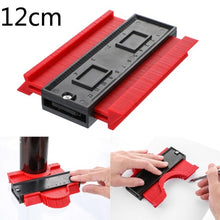 Load image into Gallery viewer, Contour Gauge Plastic Profile Copy Contour Gauges Standard Wood Marking Tool Tiling Laminate Tiles Tools Profile Measuring Tools